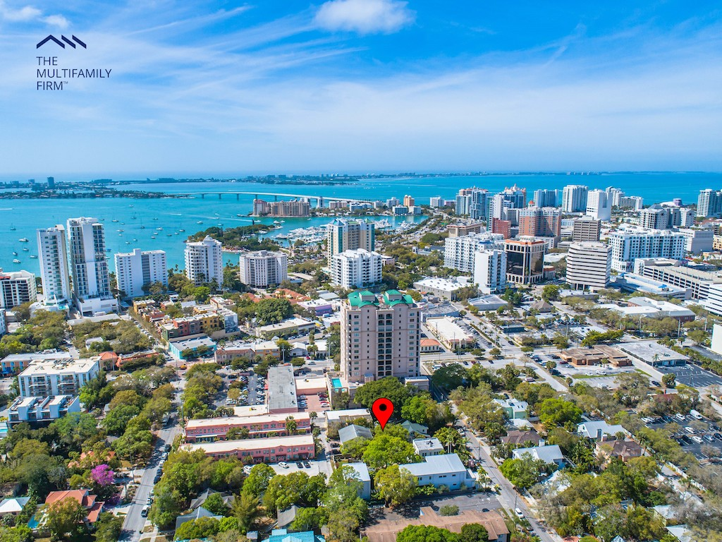 The Multifamily Firm Brokers Downtown Sarasota Apartment Building Sale in Historic Neighborhood