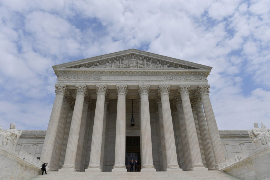 The Supreme Court's term begins Monday and runs through early summer 2020.