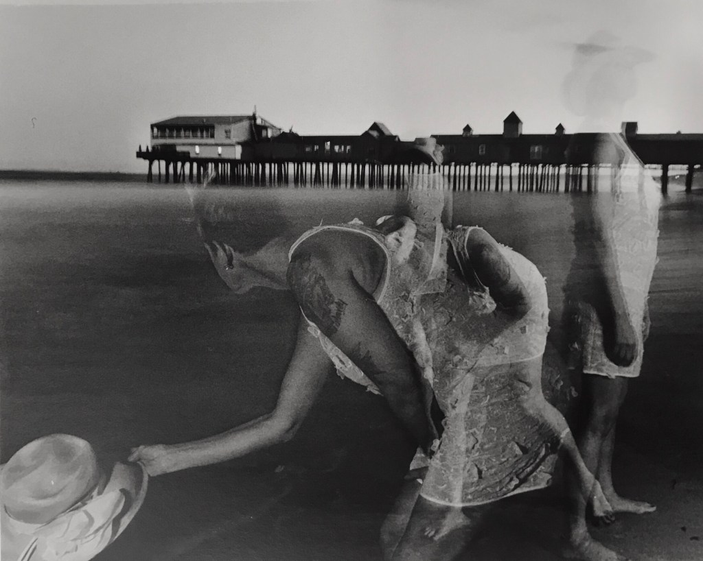 """""""Raptured Moment,"""" ongoing series by Joseph Della Valle, untitled. Silver gelatin print, 2018"""