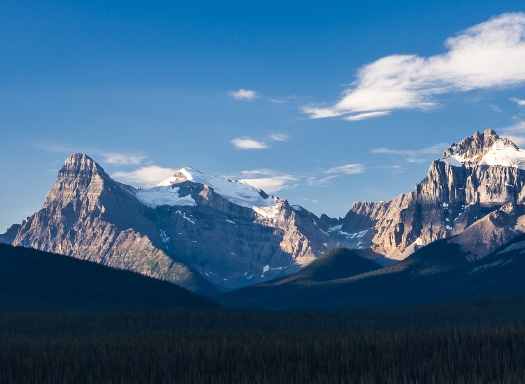 Howse Peak from Jasper National Park, Alberta, Canada