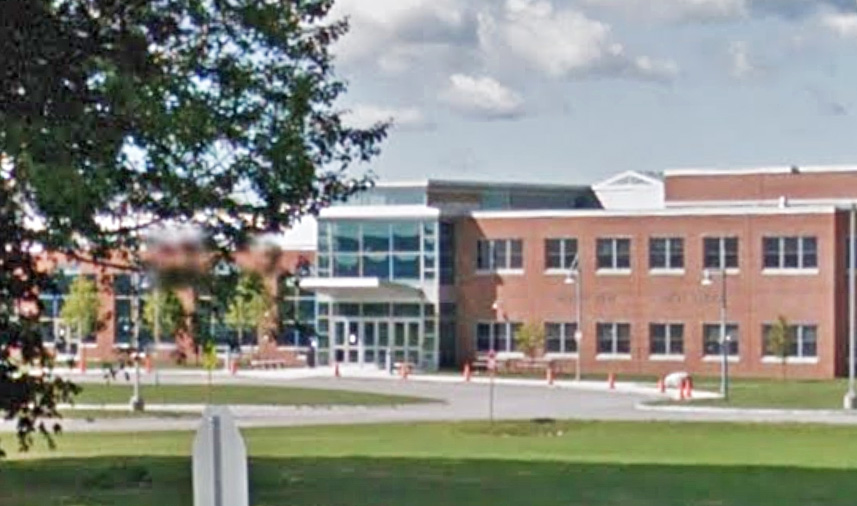 A teenage student was arrested and charged Monday in connection with alleged threats made to Mt. View High School in Thorndike.