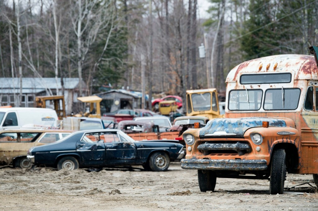 A hearing originally scheduled for Wednesday in Waterville to determine how and when a junkyard owned by Larry and Janet DiPietro, at 602 Augusta Road in Rome, will be cleaned up and whether fines or penalties will be imposed has been postponed. Larry DiPietro, who was to give testimony, was injured May 19 while trying to remove salvage material from the property and has been hospitalized.