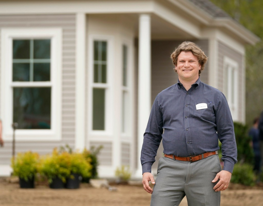 """Chris Wasileski, director of development for Sea Coast Management Co., said of Cumberland Crossing, """"I want to move to a community like this, if I am ever able to, when I grow up."""""""