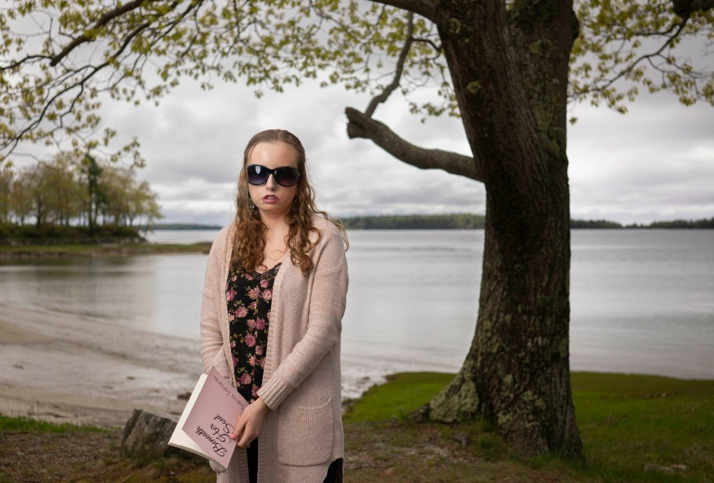 """Freeport High School student Sierra Zahares has Moebius syndrome, a rare neurological condition that paralyzes facial muscles. She's an outgoing student leader who plays field hockey, sings and dances in student productions, has written a book titled """"Beneath Her Soul,"""" and is working to raise awareness of Moebius syndrome."""