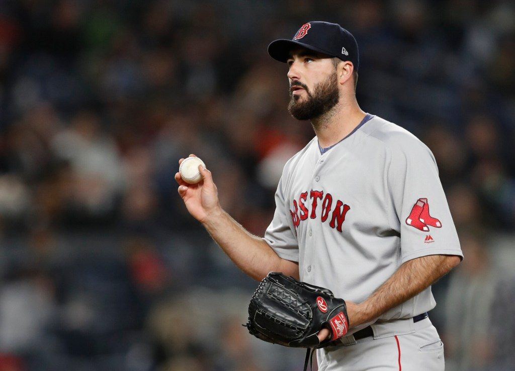 Brandon Workman, a member of the 2013 Red Sox championship team, has been a key arm out of the bullpen for Boston this season.