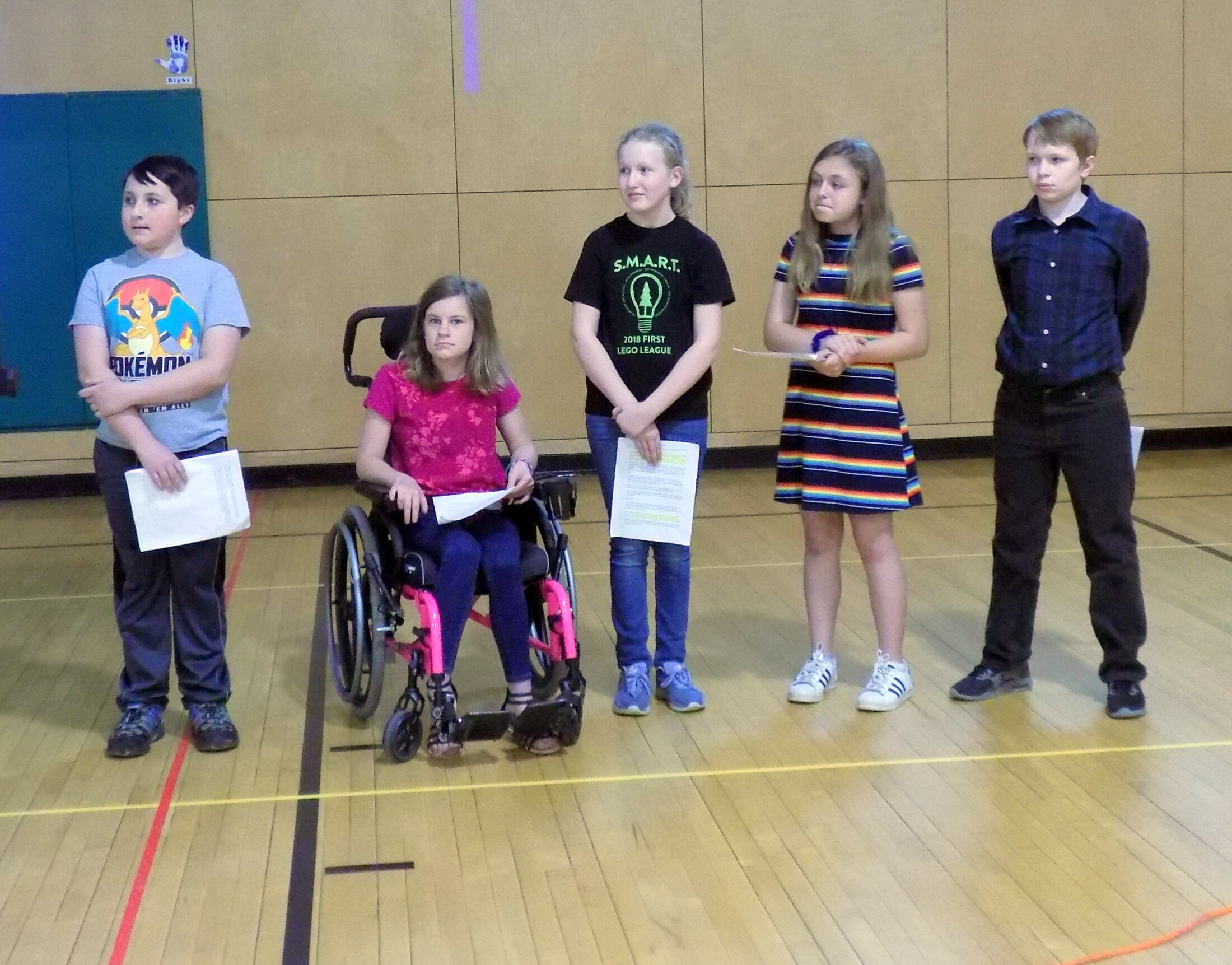 Contest video made by Spruce Mountain Middle School students is best