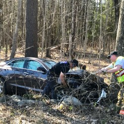 Jefferson woman, 21, killed in one-vehicle crash on Route