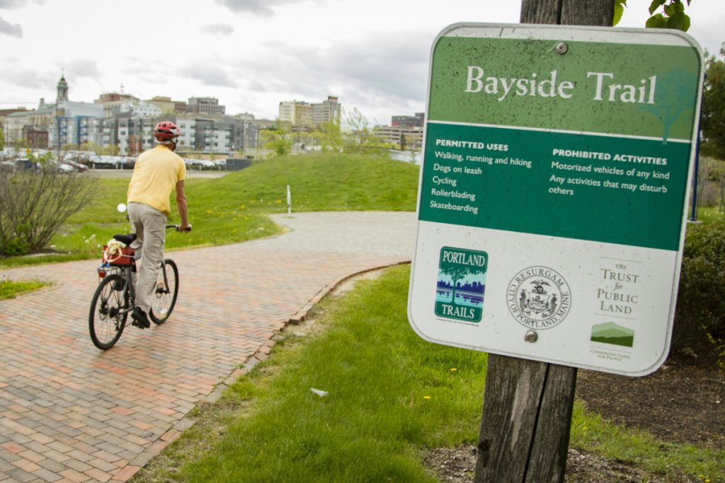 Portland's Bayside Trail will be the site of a memorial honoring the late Dr. Martin Luther King Jr.