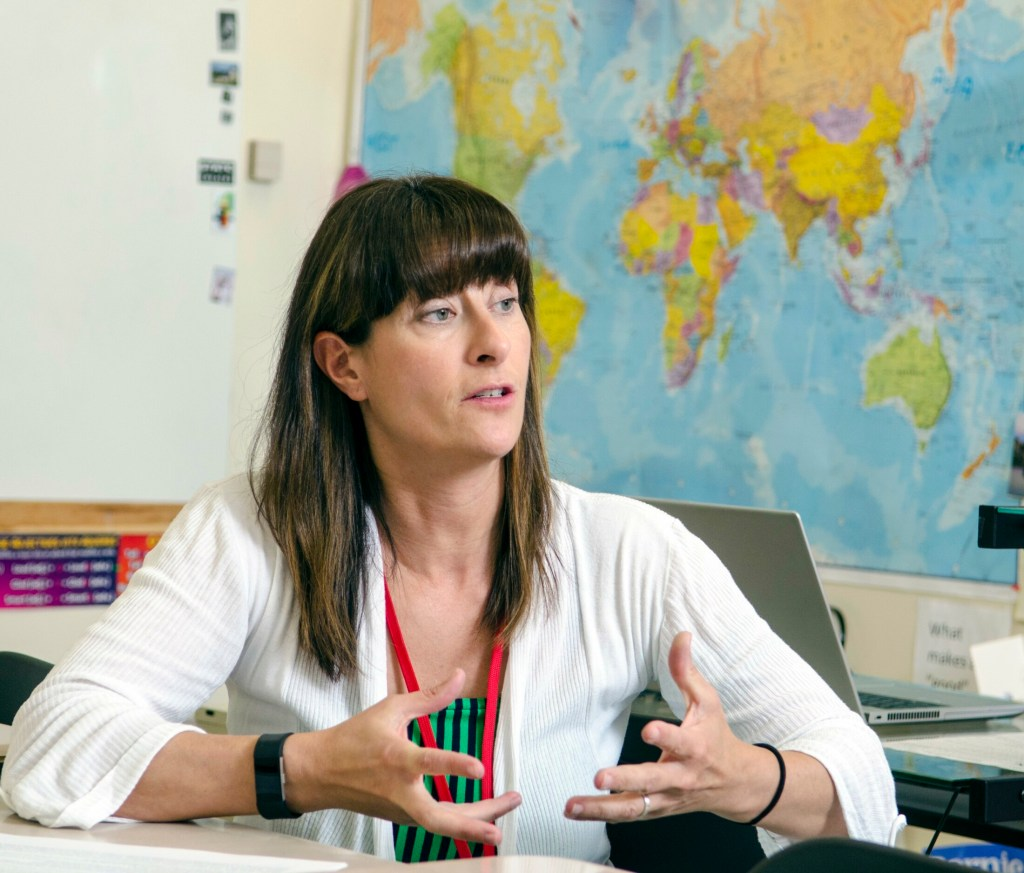 Cony High teacher to spend semester in Greece studying refugee education
