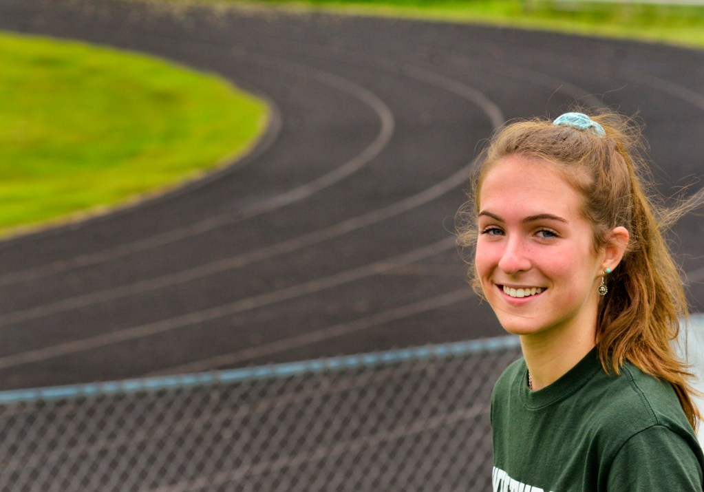 Winthrop's Jillian Schmelzer is the Kennebec Journal Girls Track and Field Athlete of the Year.