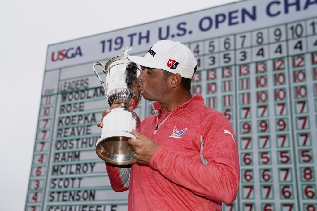 Gary Woodland didn't dream of winning the U.S. Open as a kid, he wanted to play basketball. His dreams have changed and on Sunday he won his first major title.