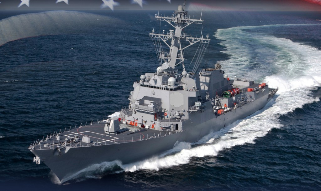 BIW's next destroyer to be named after Coast Guard war hero