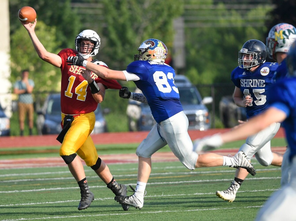 Lobster Bowl: West sets scoring record in 60-14 win