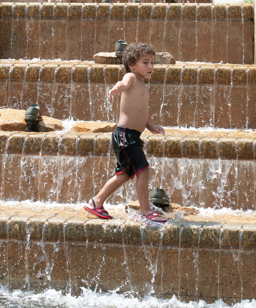 Weekend heat above normal, but sets no records | Lewiston Sun Journal