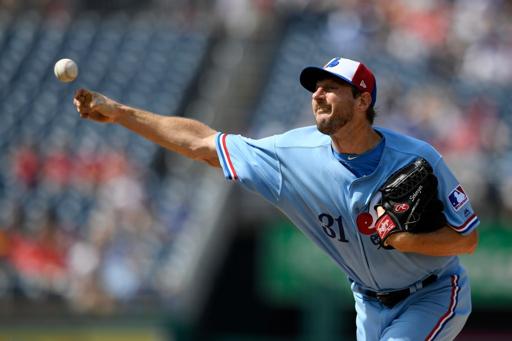 new styles 33163 39d47 Saturday's major league roundup: Scherzer shuts down Royals ...