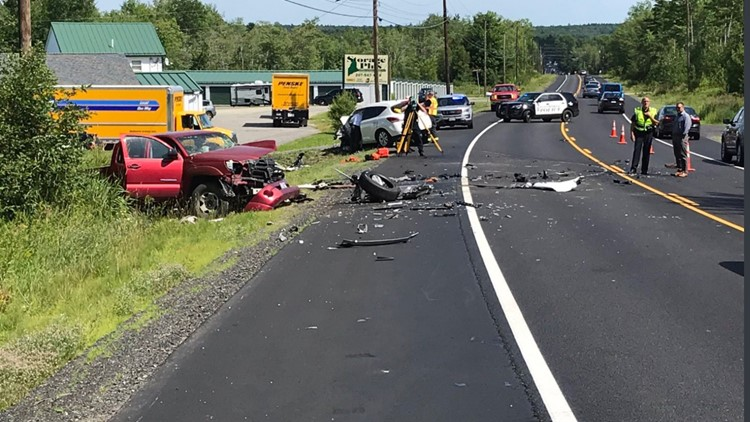 One driver was killed in this crash on Route 1A in Ellsworth on Thursday.