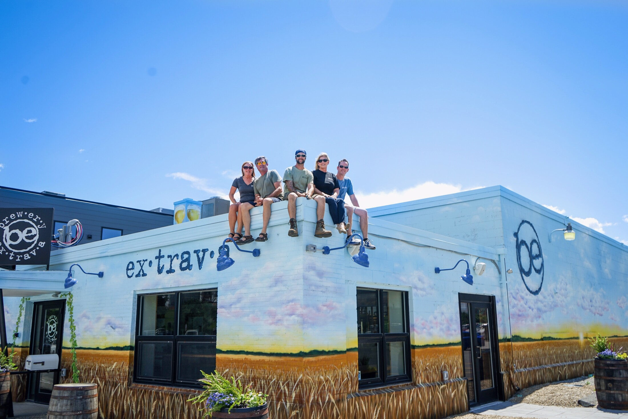 Tap Lines: In taste and tasting room, Brewery Extrava will