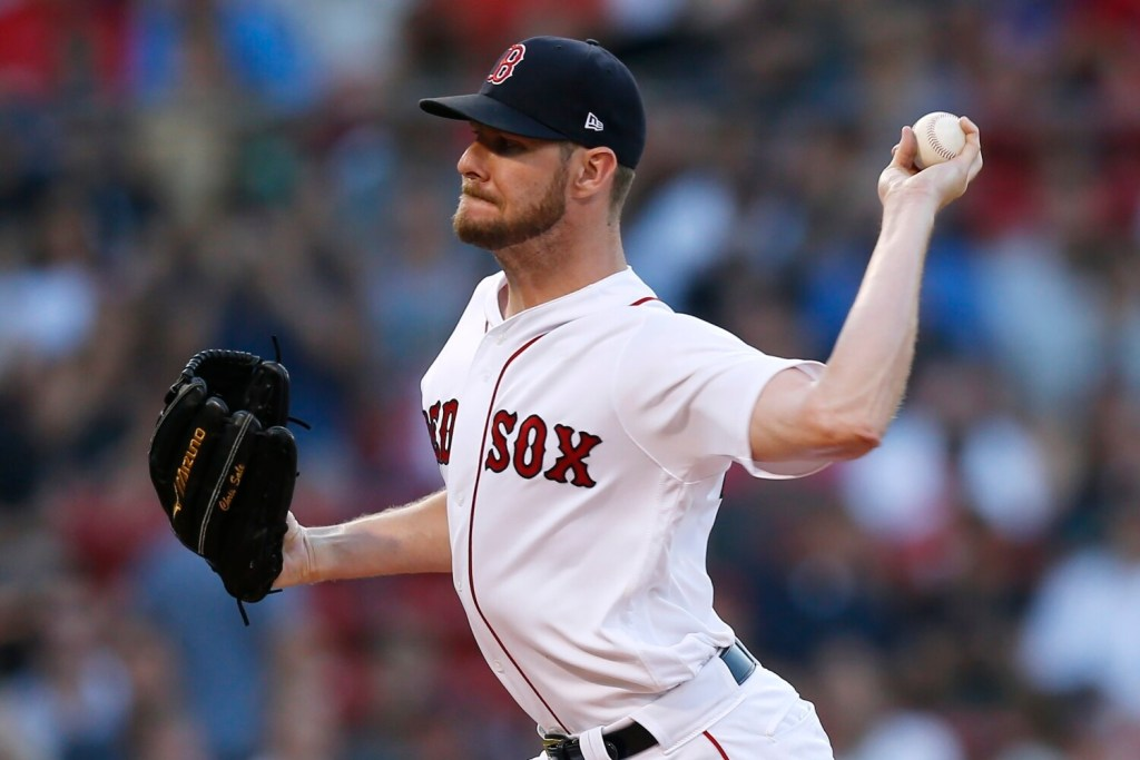 Red Sox starting pitcher Chris Sale has been shut down the remainder of the season. Sale does not need Tommy John surgery on his left elbow, but did receive treatment from Dr. James Andrews on Monday.