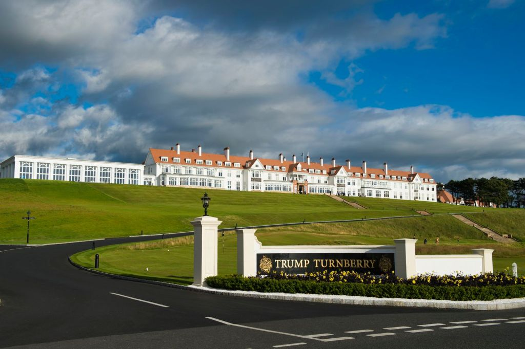 Maine Guard members' stay at Trump resort in Scotland part