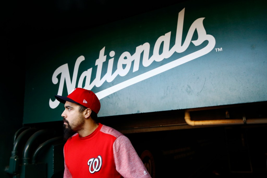 Anthony Rendon and the Washington Nationals will have a week off before facing either the Yankees or the Astros in the World Series.