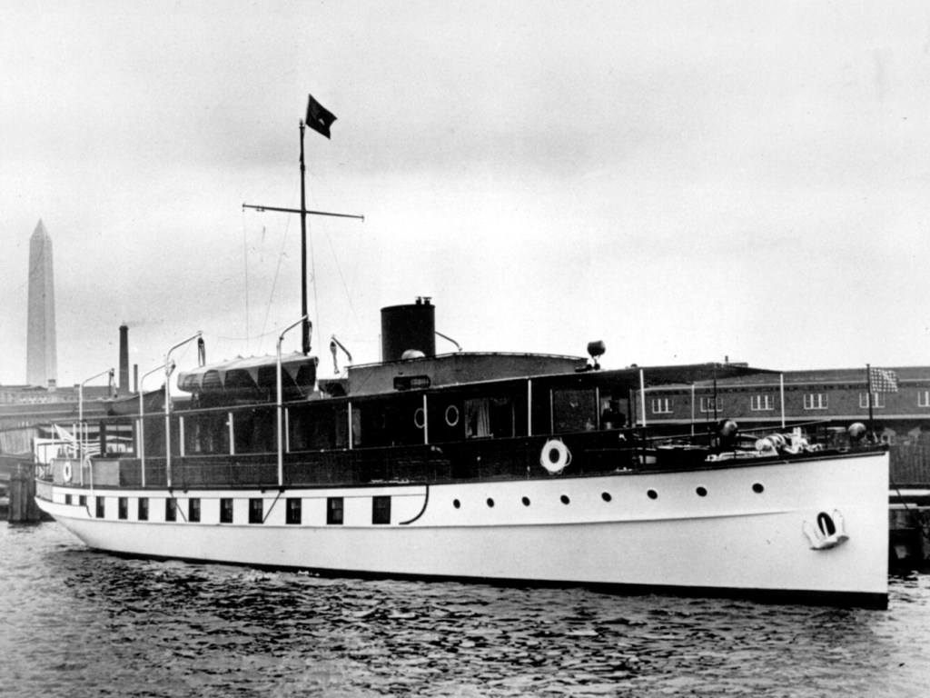 Historic presidential yacht Sequoia coming to Belfast for rebuild