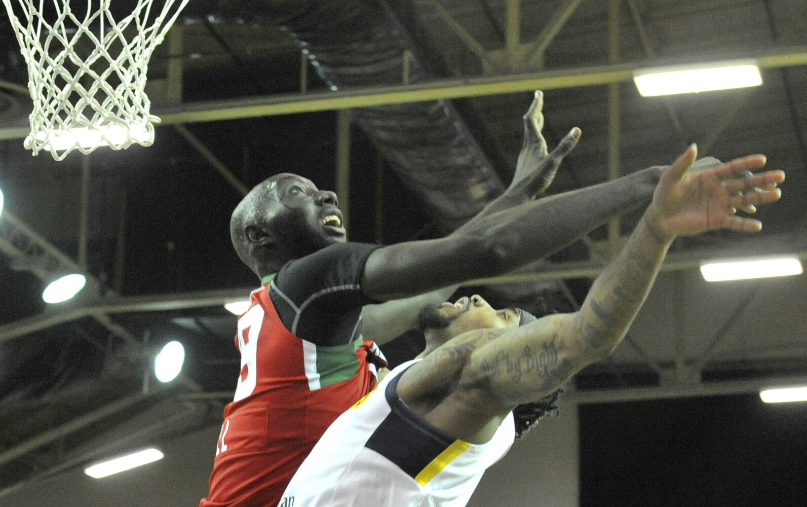 Tacko Fall leads Red Claws to victory in Portland debut - CentralMaine.com