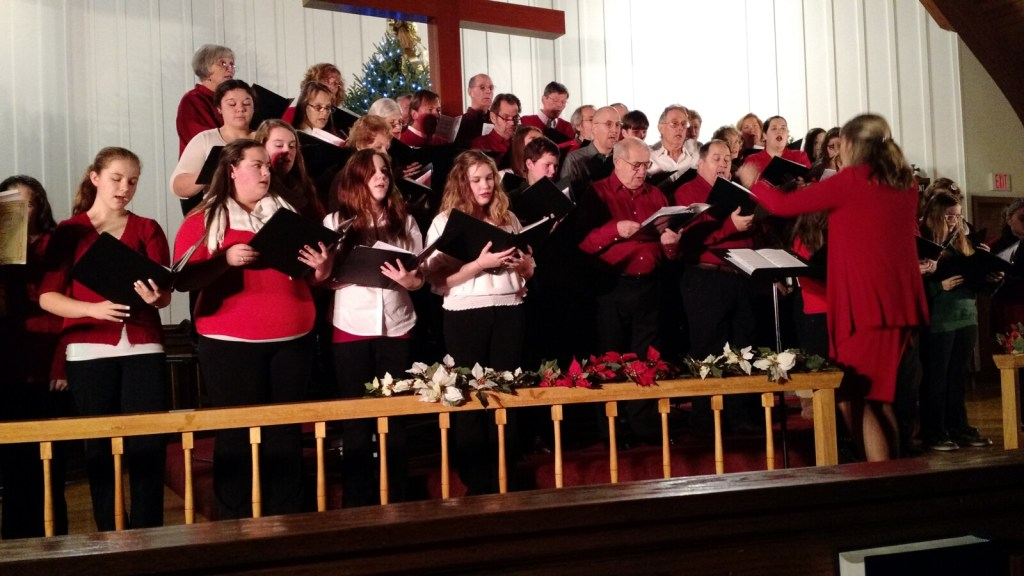 Rangeley Community Chorus will perform Dec. 13 at the Church of the Good Shepherd in Rangeley.