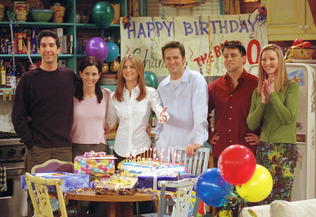 Friends is the gift that keeps on giving...