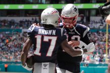 Antonio Brown Joins Tom Brady in Tampa Bay