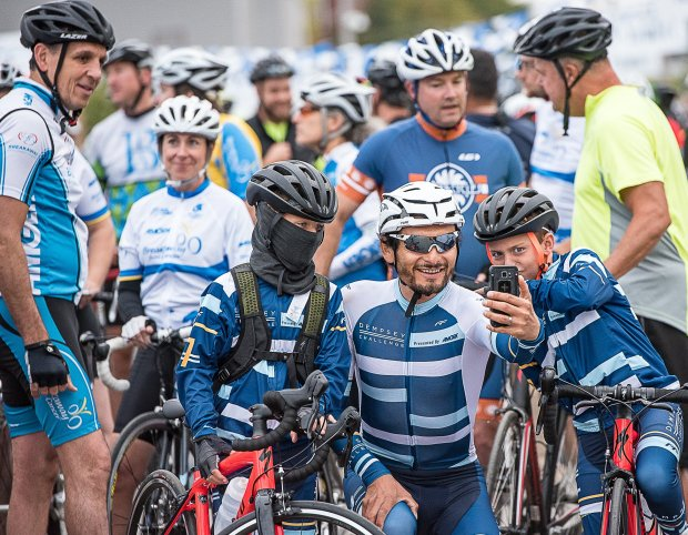Dempsey Challenge Brings Over 1000 Cyclists Lewiston Sun Journal