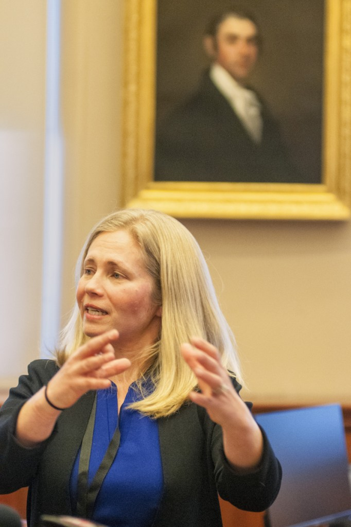 Hannah Pingree says her first priorities as head of Maine's new Office of Innovation and the Future will be early-childhood education, the opioid crisis, the expansion of broadband, workforce development and improving the state's rural economy.