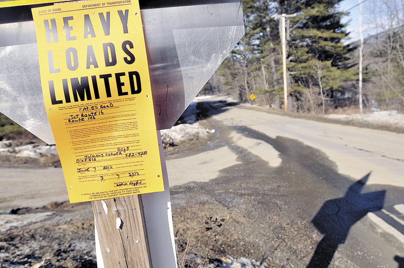 It's unknown how Katie Crotch Road got its name and despite numerous stolen road signs on it, Embden residents recently decided against a name change to discourage vandals.