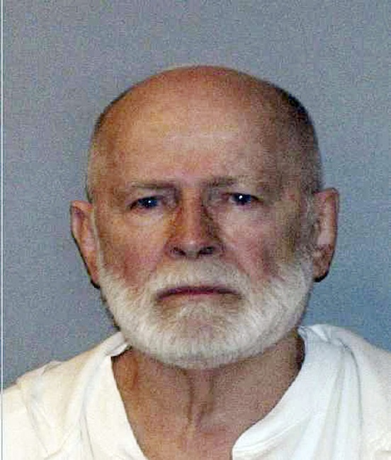 """This June 23, 2011 file booking photo provided by the U.S. Marshals Service shows James """"Whitey"""" Bulger, who was captured in June 2011 in Santa Monica, Calif., with his longtime girlfriend Catherine Greig. Bulger's lawyer said at a hearing in Boston federal court Monday, Aug. 6, 2012, that Bulger will testify during his trial, scheduled for March 2013, that he was given immunity by the Justice Department for any crimes he committed in exchange for being an FBI informant. (AP Photo/U.S. Marshals Service, File) James """"Whitey"""" Bulger"""