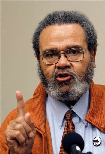 Lawrence Guyot, a Student Nonviolent Coordinating Committee member in Mississippi during the civil rights struggles of the 1960s, in a 2010 photo taken in Hattiesburg, Miss.