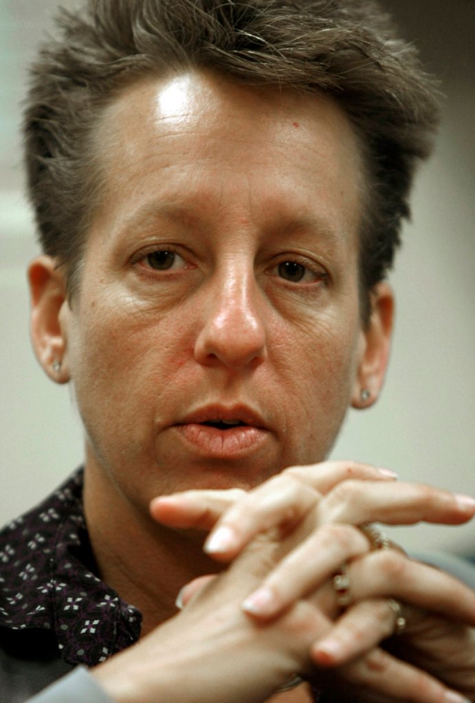 Patricia Barnhart, who was fired a prison warden last month.