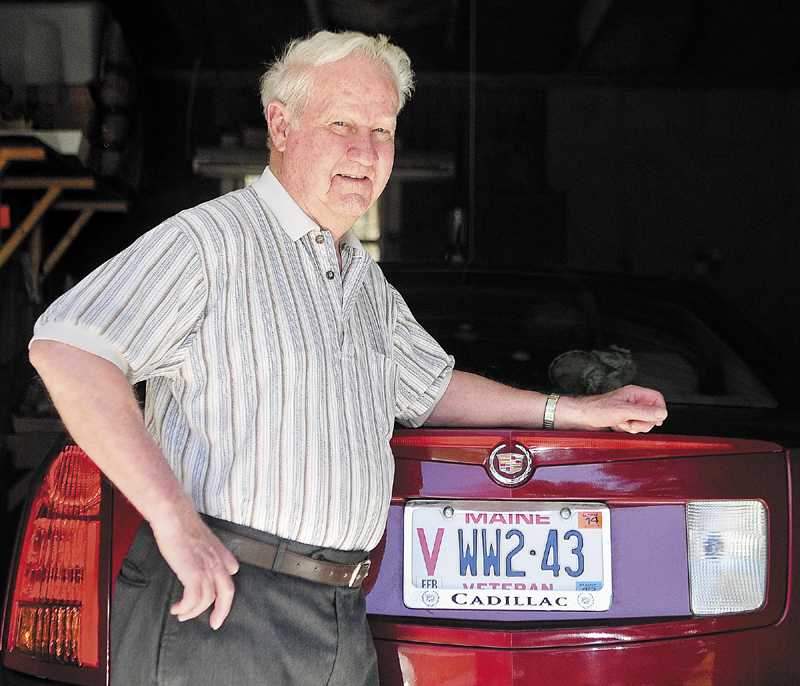 Henry Breton, of Manchester, who served in World War II in Europe, will be making a return trip there this summer.