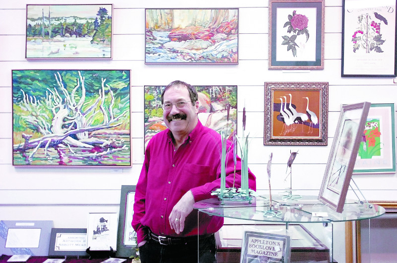 Bill Taylor owned Framemakers, Waterville's business of the year in 2006, and in 2007 he was recognized with the William R. Cotter Award by the Waterville Regional Arts and Community center for his contributions to the cultural and artistic development of the area.