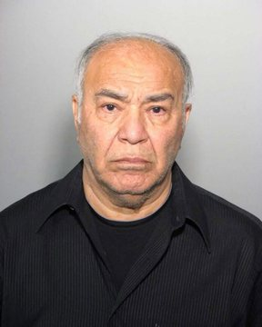 Antony Piazza is shown in a Montreal police handout photo. Piazza, a 71-year-old Iranian-born man with a legally changed name, faces three criminal charges in connection with an alleged attempt to bring explosive material onto an airplane.