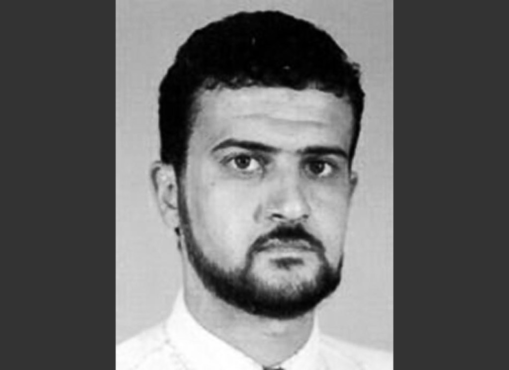 FILE - This file image from the FBI website shows al Qaeda leader Abu Anas al-Libi. Al-Libi, who was charged in the deadly 1998 al-Qaida bombings of U.S. embassies in Africa, pleaded not guilty Tuesday, Oct. 15, 2013, to terrorism charges in a heavily guarded courtroom in New York.