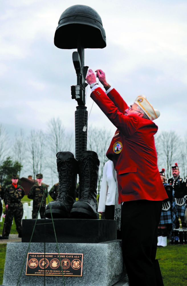 GRANT FOR IMPROVEMENTS: The Maine Veterans Memorial Cemetery in Augusta will receive federal money for improvements.
