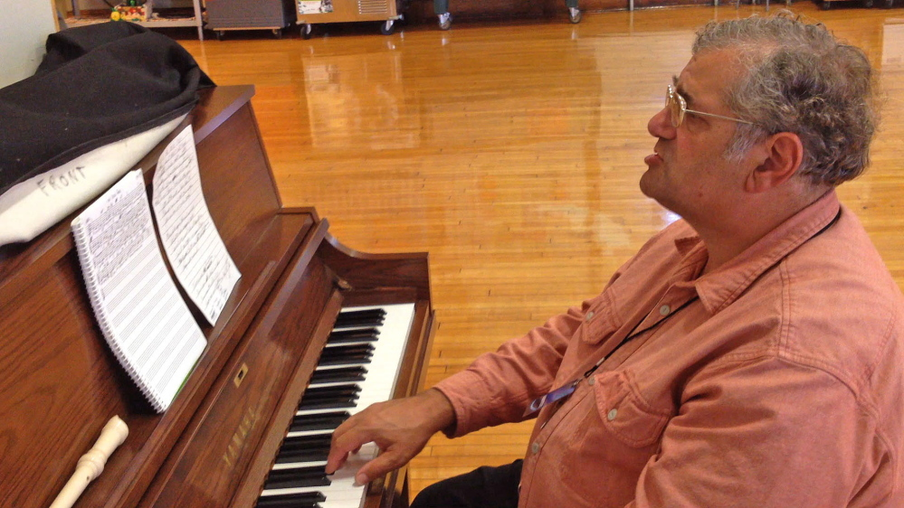 Gerald York Jr., a substitute teacher in the Waterville schools, composed a song commemorating the theft of the fifth grade's onion crop and the receipt of replacement onions from strangers. He's a retired Jonesport-Beals High School music teacher.
