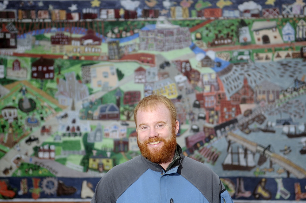 Patrick Wright is executive director of Gardiner Main Street, which is scheduled to be recognized Jan. 23 with an award from the Kennebec Valley Chamber of Commerce.