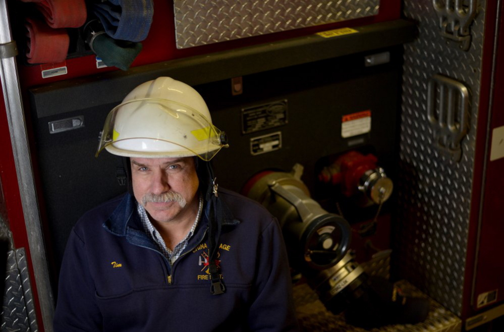 China Village Fire Chief Tim Theriault, who is also a state lawmaker, told a legislative hearing on Monday that without being able to offer any financial incentives, his department must rely on help from neighboring departments for such basic chores as attacking a fire from inside a burning building.