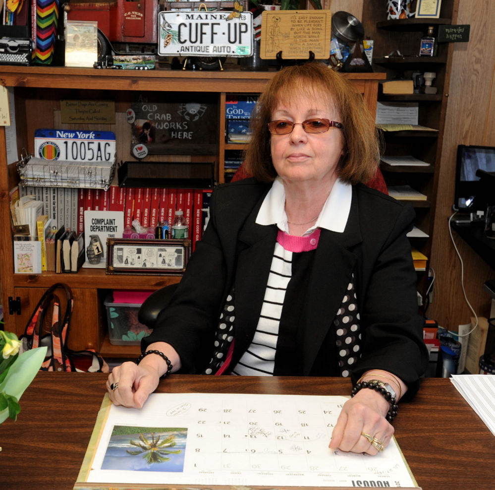 Claudia Viles, Anson tax collector, has acknowledged a lawsuit filed against her by the town and has until Sept. 6 to answer it.