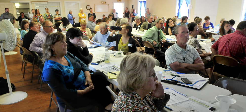 There was a large turnout of officials and agencies for the Somerset Public Health Collaborative sponsored forum in Skowhegan on Monday. The county was ranked least healthy in the state in March.