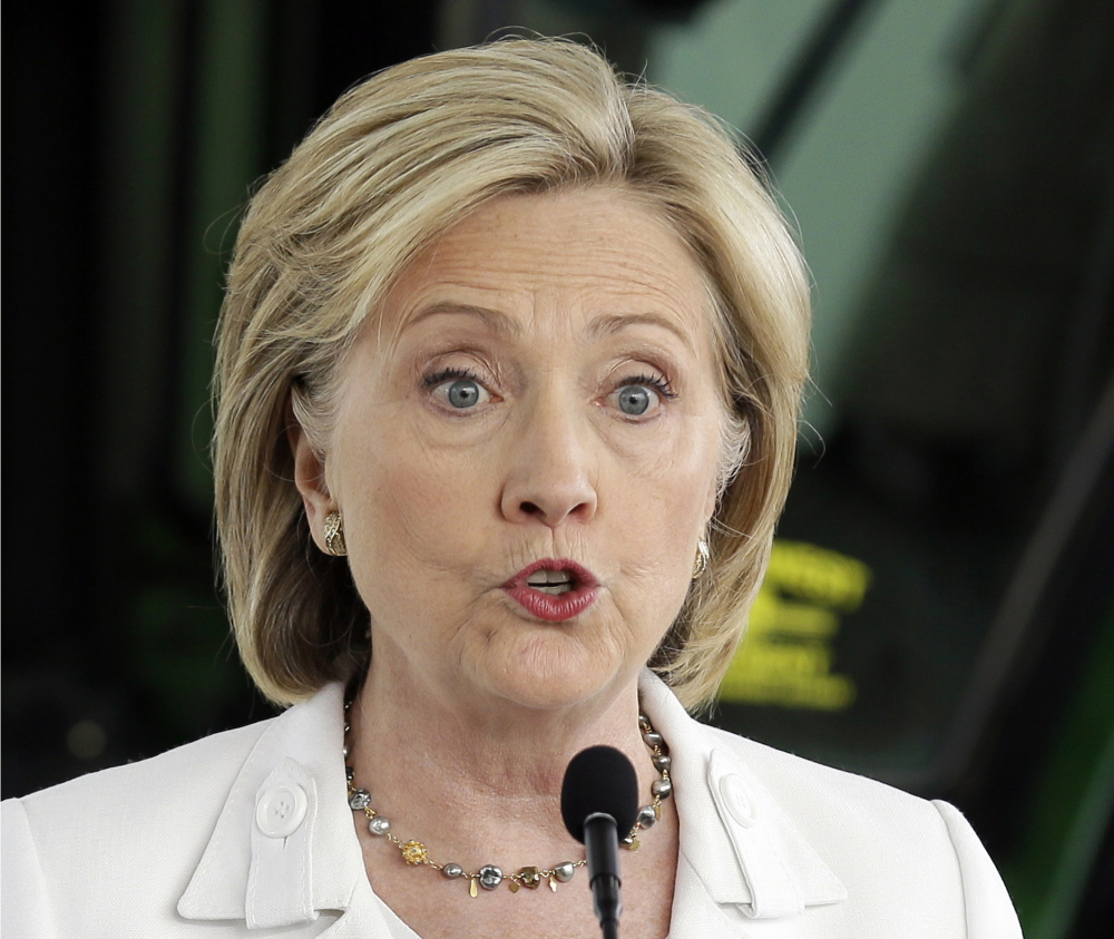 Democratic presidential candidate Hillary Rodham Clinton will visit Portland on Friday.