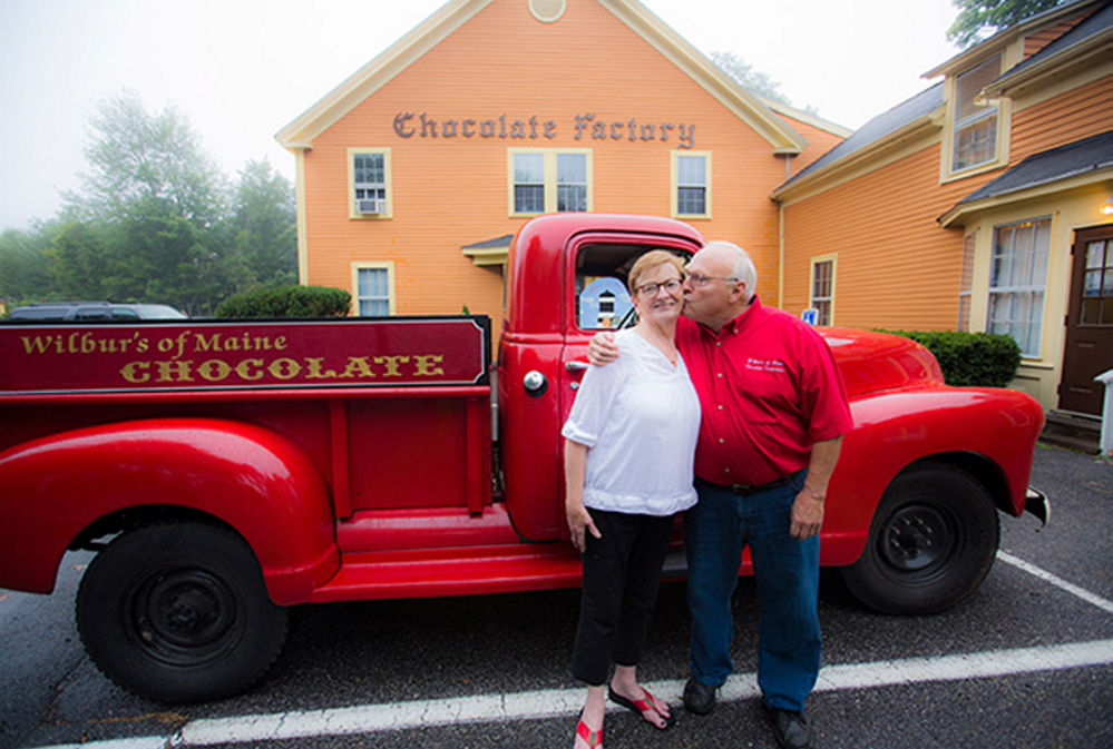 Tom and Catherine Wilbur intend to use the money to set up a demonstration kitchen and open a chocolate-making school.