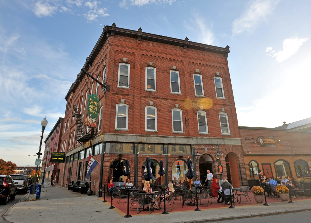 Charlie Giguere's downtown Waterville building on Main Street in Waterville is one example of the good things happening. Giguere has turned upper floors of his business, Silver Street Tavern, into offices and apartments, furthering the view that upper floors downtown are good places to live and work.