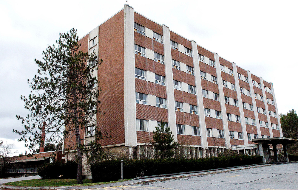 The former Seton Hospital in Waterville is expected to be redeveloped into apartments.