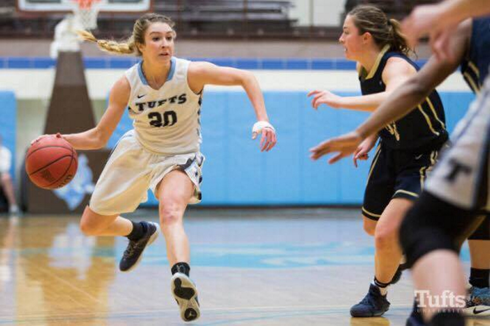 Cony graduate Josie Lee is one of the driving forces for the Tufts women's basketball team heading into the Division III Final Four.